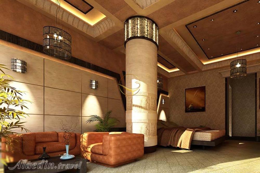فضای داخلی اتاق_هتل سورینت قشم