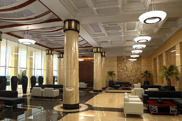 نمای داخلی هتل بین المللی سورینت قشم