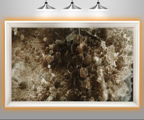 سنگ مرمر قهوه ای عقیق از محصولات صنایع سنگ پاسارگاد